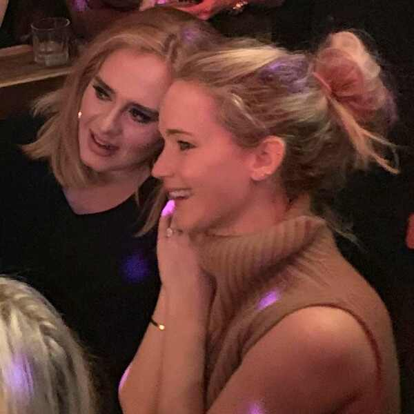 Adele, Jennifer Lawrence